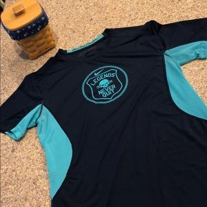 Nike Pro Combat Dri-Fit Fitted Large Active Shirt